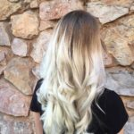 Ice Blonde Colour Melt in our Exeter Hair Salon