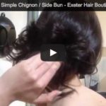 How to Create a Simple Chignon / Side Bun