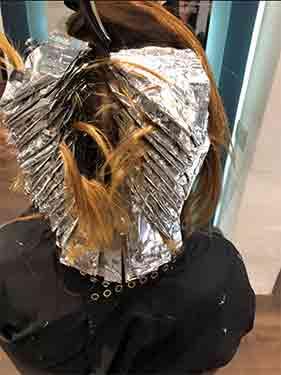 Salon foils