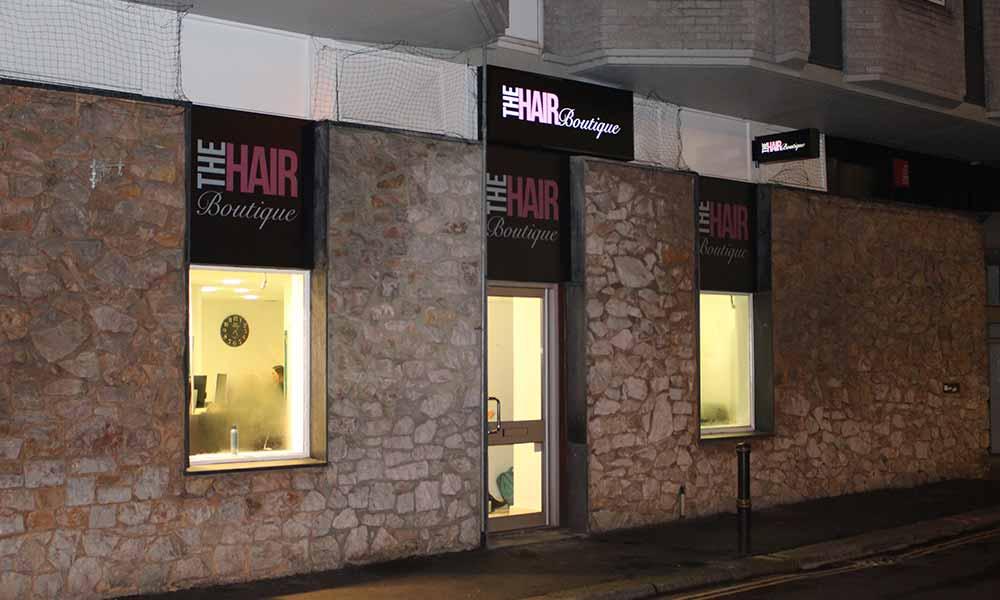 'Before' Slaon Shop Front
