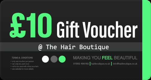 Hair Voucher £10