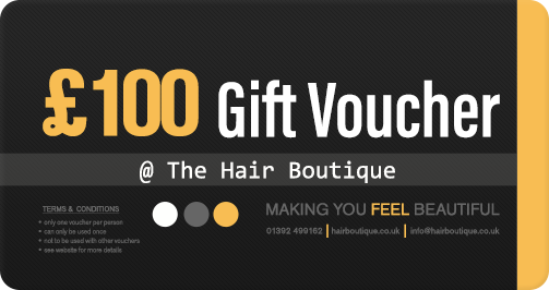 Hair Voucher £100