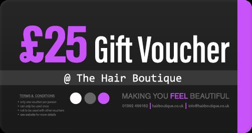 Hair Voucher £25